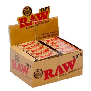 RAW Unbleached Roach Tips