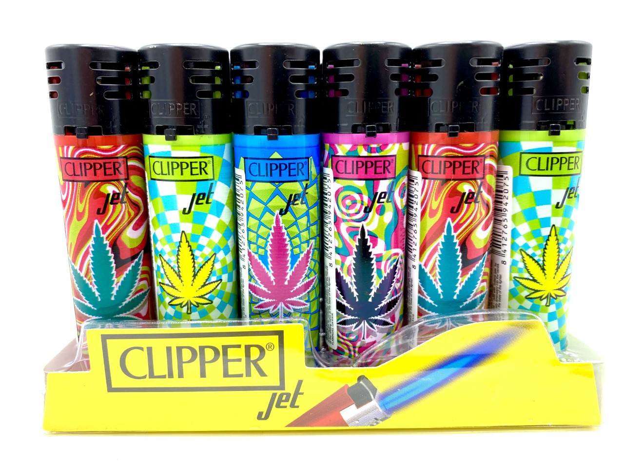 Clipper Electronic Jet Flame Leaves