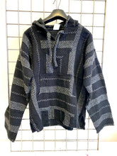 Load image into Gallery viewer, Mexican Baja Jerga Hoody – Dark Stripe
