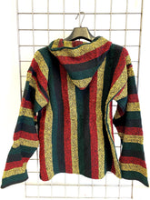 Load image into Gallery viewer, Mexican Baja Jerga Hoody – Rasta