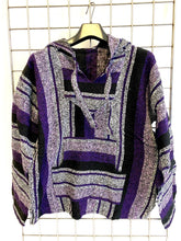 Load image into Gallery viewer, Mexican Baja Jerga Hoody - Lavender