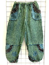 Load image into Gallery viewer, (9)Stone Washed Trousers – GREEN