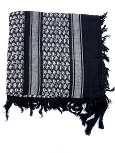 Shemagh Scarf - (CHOICE OF 7 COLOURS)