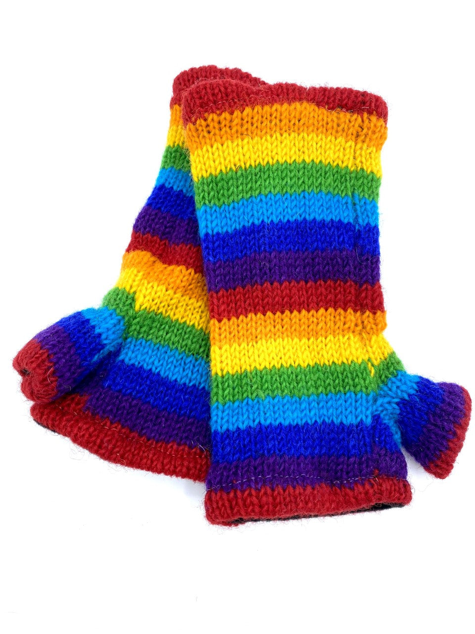 Rainbow Tube Gloves
