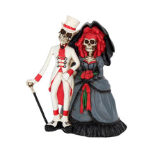 Load image into Gallery viewer, Forever By Your Side Skeleton Wedding Bride & Groom