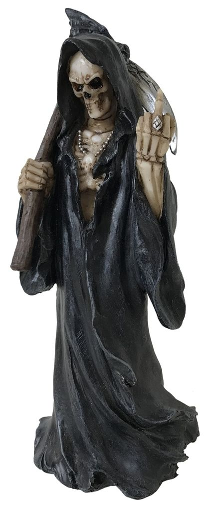 Death Wish Ill-Wishing Gothic Reaper Figure 22cm