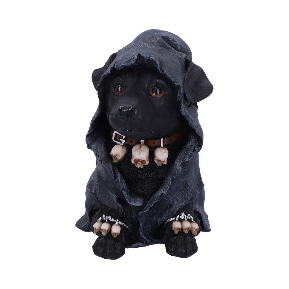 Reapers Canine Cloaked Grim Reaper Dog Figurine