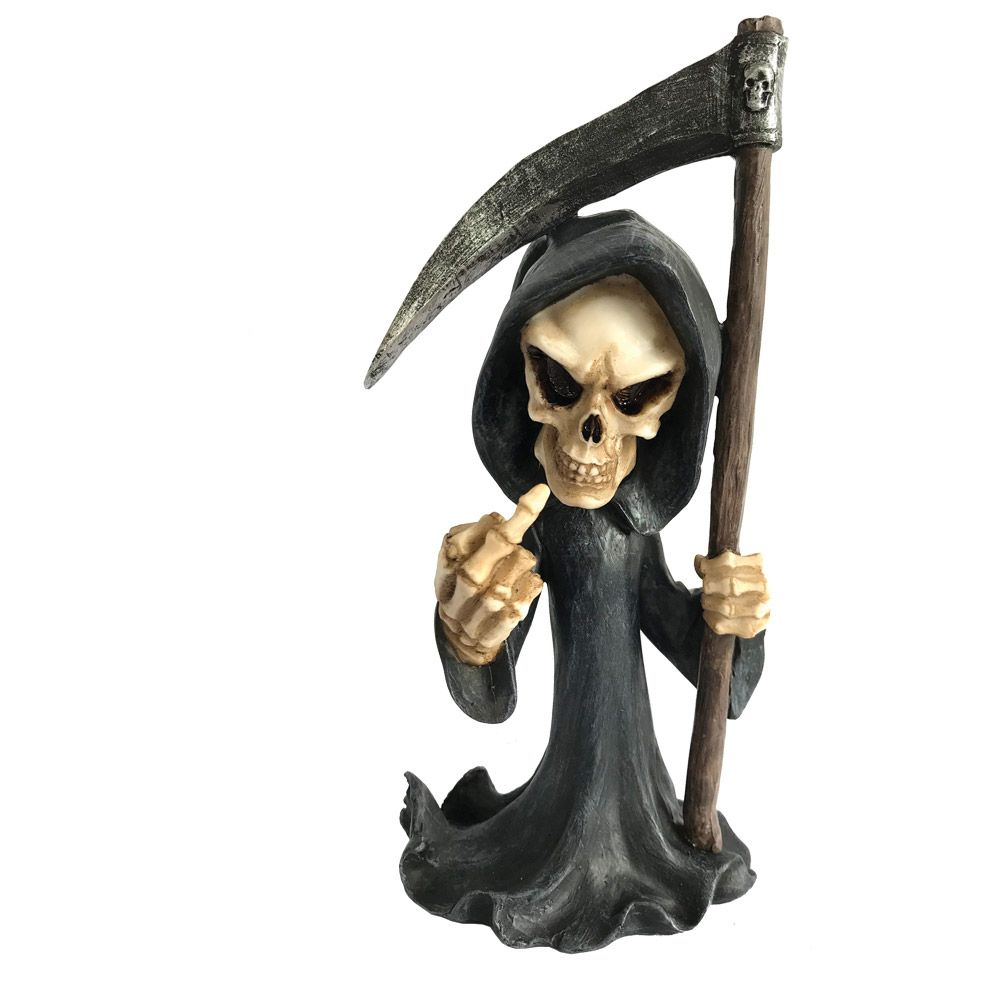 Don't Fear the Reaper Cursing Grim Reaper Figurine