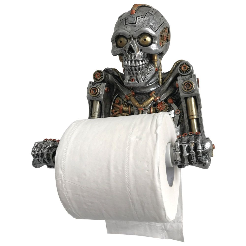Humanoid Helper Toilet Roll Holder