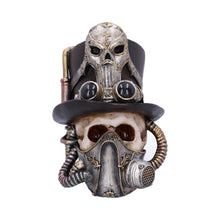 Load image into Gallery viewer, Steampunk Skull Mask Ornament