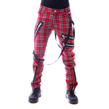 Load image into Gallery viewer, Vixxsin Red Tartan Vincent Trousers