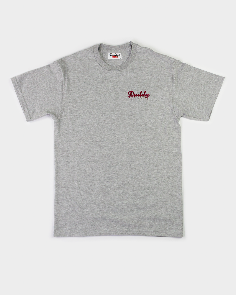"""Daddy Drip"" - Grey/Maroon Embroider - Daddy's Club"