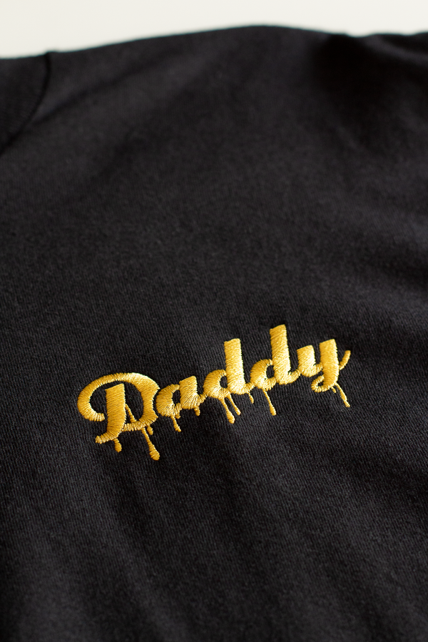 """Daddy Drip"" - Black/Gold Embroider - Daddy's Club"