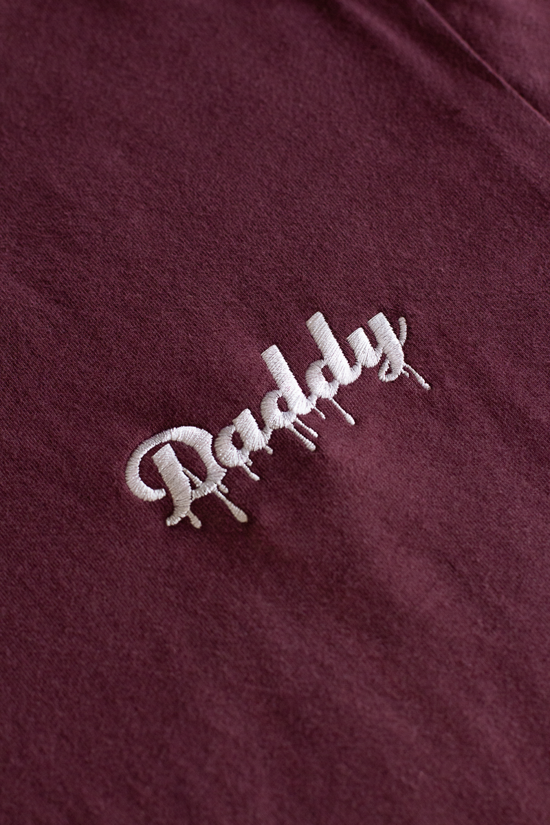 """Daddy Drip"" - Maroon/White Embroider - Daddy's Club"