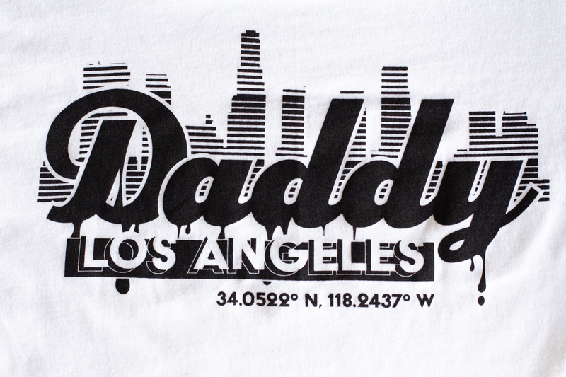 """Daddy Los Angeles"" - White - Daddy's Club"