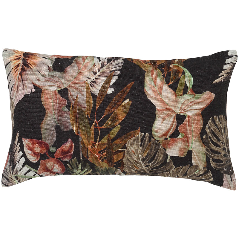 Night Jungle Lumbar Cushion