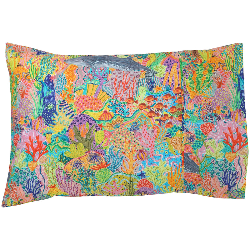 Snorkel Cotton Pillowcase
