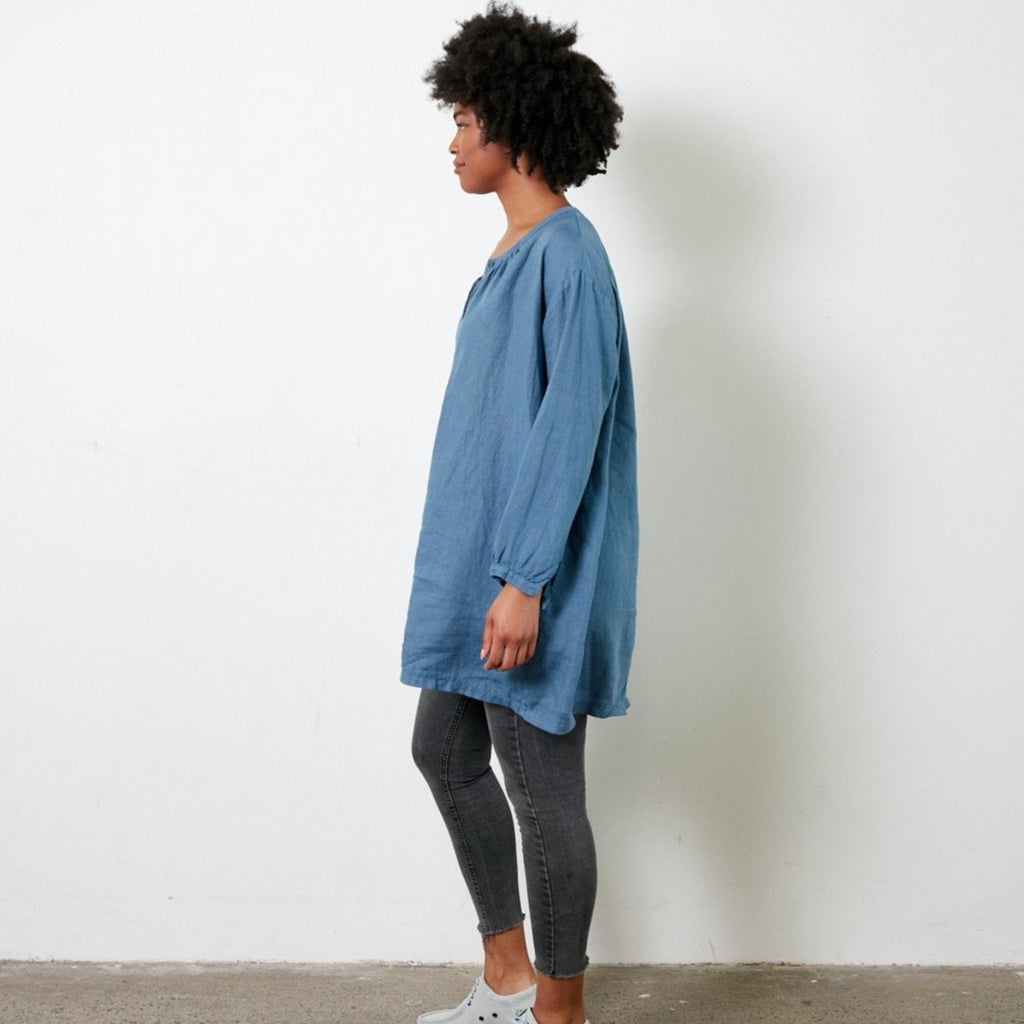 Oversized Smock Shirt - Various Colours