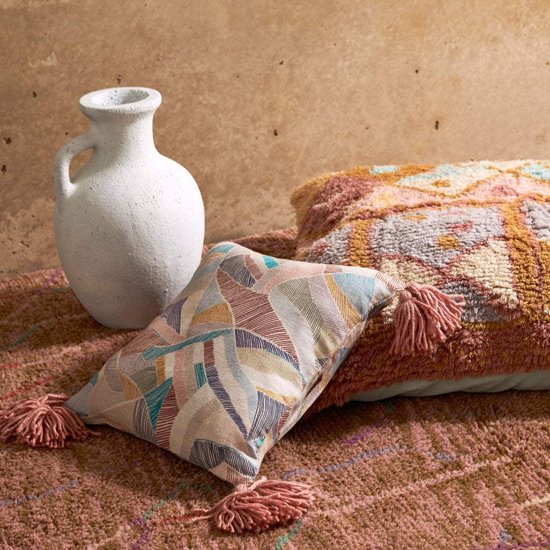 Desert At Dusk Shag Floor Cushion
