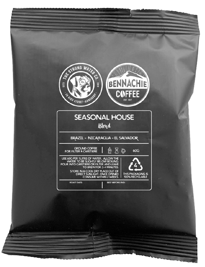 Delight your senses with Bennachie Coffee at the Strong Water Co.