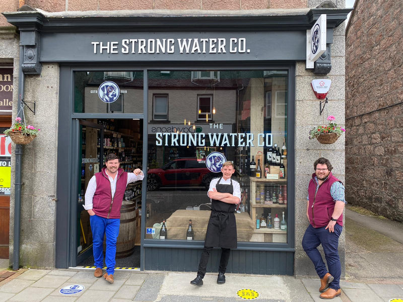Introducing The Strong Water Co @ Home – Fine Dining Delivered Directly to your door by Michelin-trained Chef Craig McKenzie.