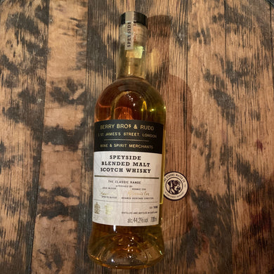 Speyside Blended Malt Berry Bros & Rudd