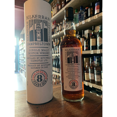 Kilkerran 8 Year Old - Cask Strength - Sherry Cask - Limited Bottles