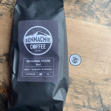Bennachie Coffee 1kg Whole Beans