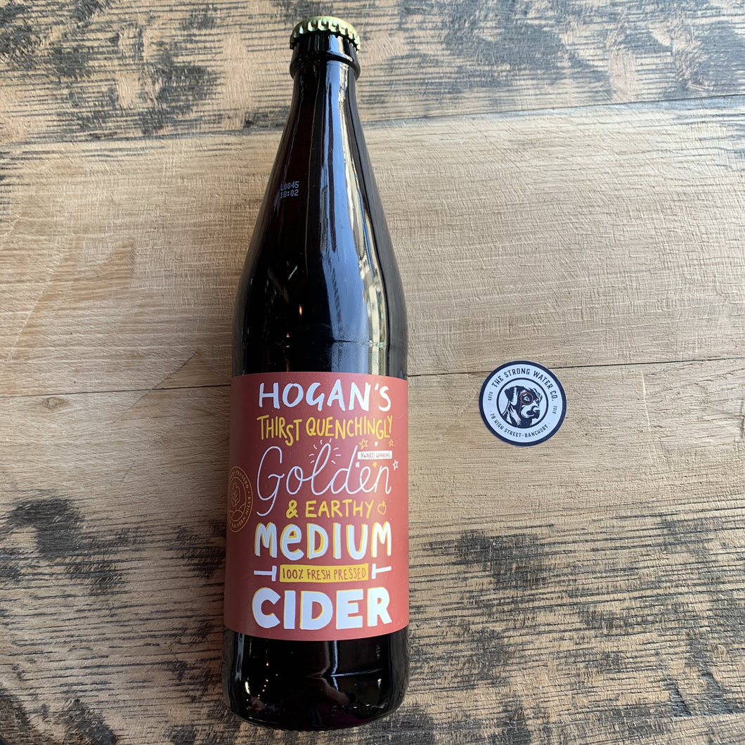 Hogan's Cider : Medium Apple Cider 500ml