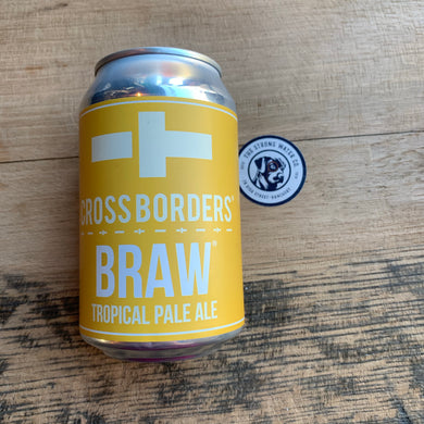 Cross Borders : Braw Tropical Pale Ale