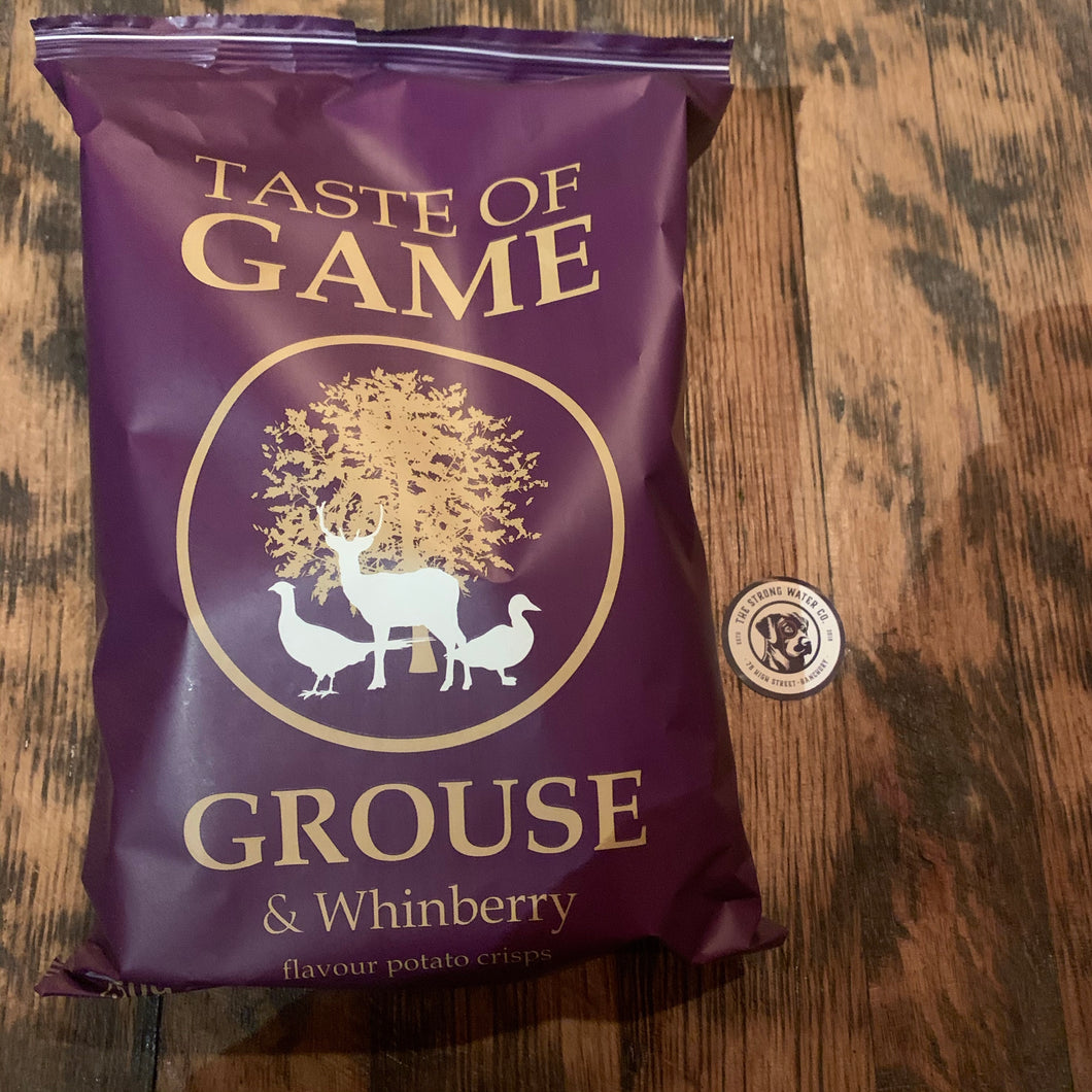 Grouse & Whinberry Crisps
