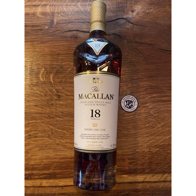 Macallan 18 Year Old - Sherry Oak - 2018 Edition