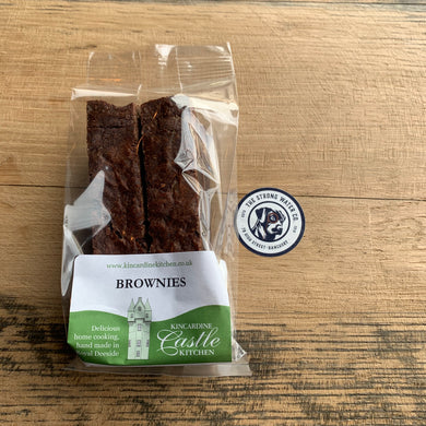 Chocolate Brownies - Kincardine Castle