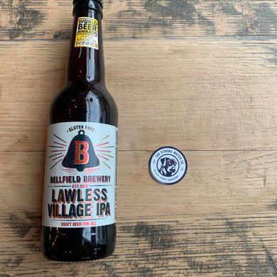 Bellfield Brewery Lawless Village IPA- Gluten-free