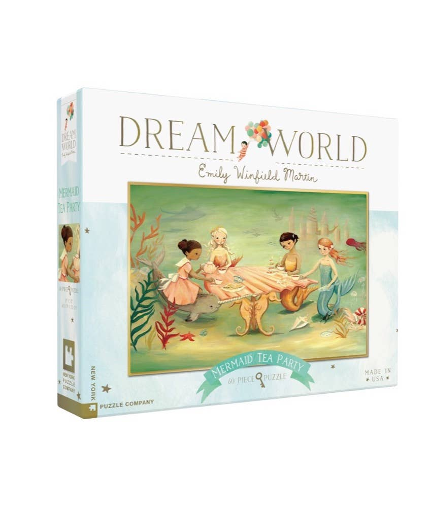 Mermaid Tea Party Puzzle