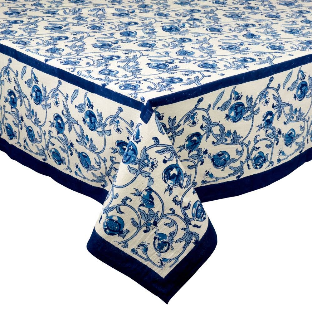Granada Blue Tablecloth 71