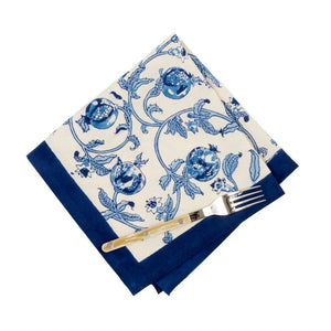 Couleur Nature - Granada Blue Napkins - Set of 6