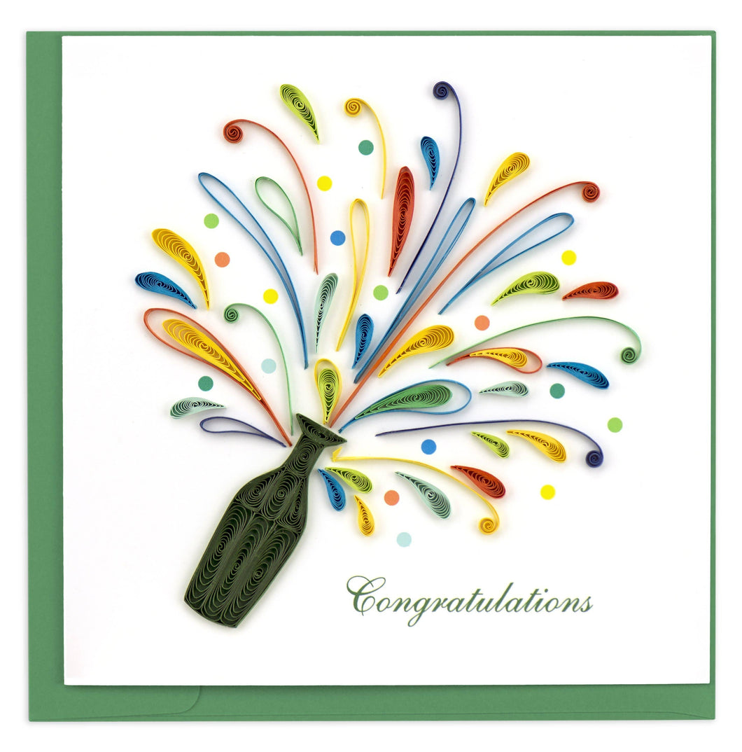 Quilling Card - Celebration Congrats