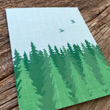 Load image into Gallery viewer, Evergreen Forest Blank Note Set