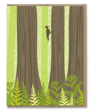 Load image into Gallery viewer, Redwood Forest Blank Note Set