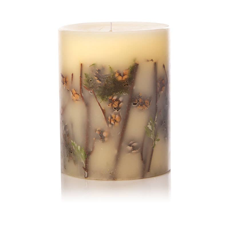 Rosy Rings - Forest Medium Round Botanical Candle