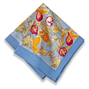 Couleur Nature - Tutti Frutti Blue/Red Napkins - Set of 6