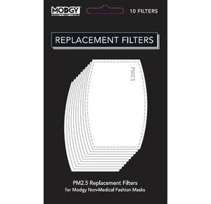 Modgy - PM2.5 Replacement Filters (10 Pack)