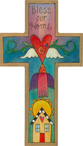 Sticks - Blessings Cross Plaque