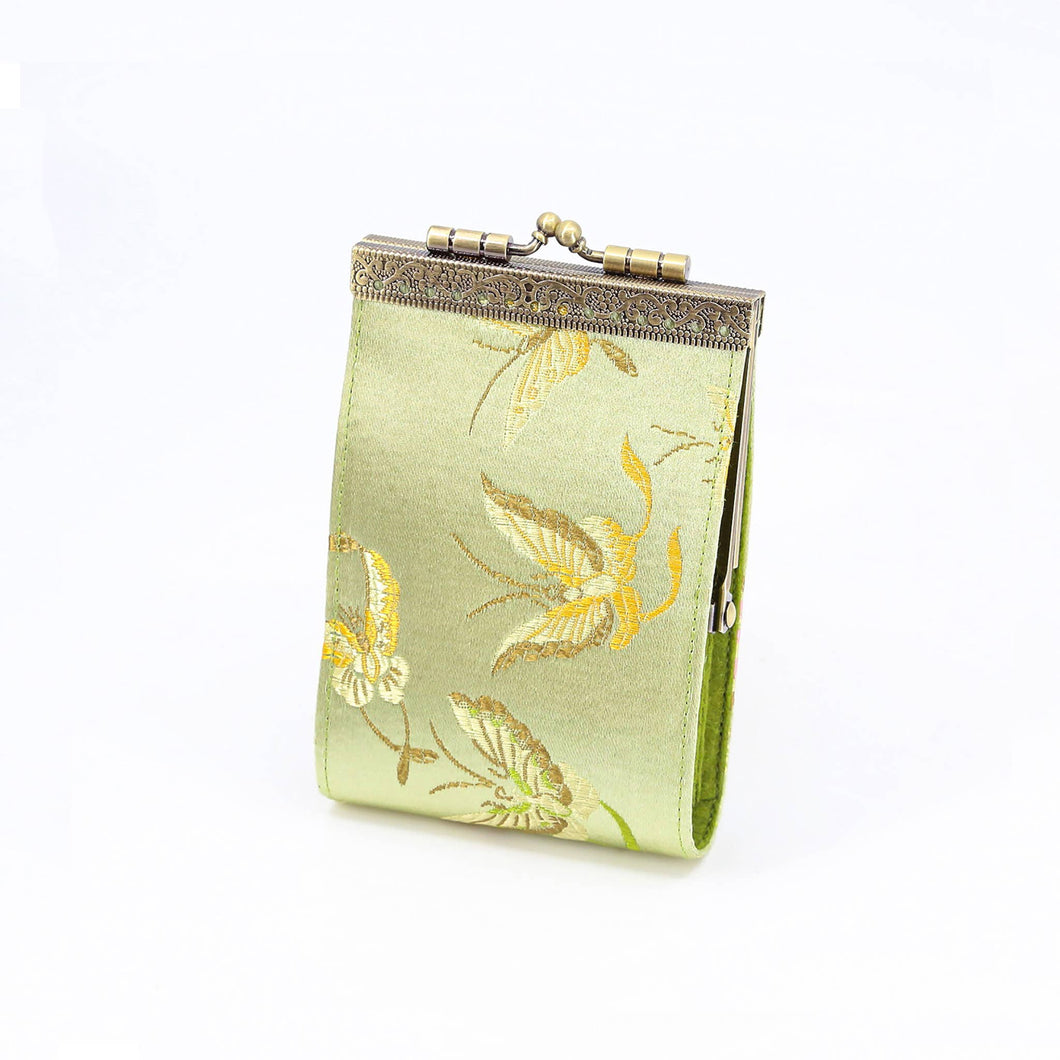 Cathayana - Light Green Butterfly Card Holder