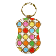 Load image into Gallery viewer, David Jeffery Beaded Handbag with Ring Handle