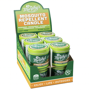 Murphy's Naturals - Mosquito Repellent Candle in Table Top Display