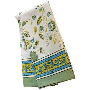 Joy Green and Blue Tea Towel