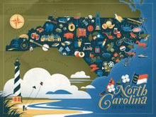 Load image into Gallery viewer, North Carolina Puzzle