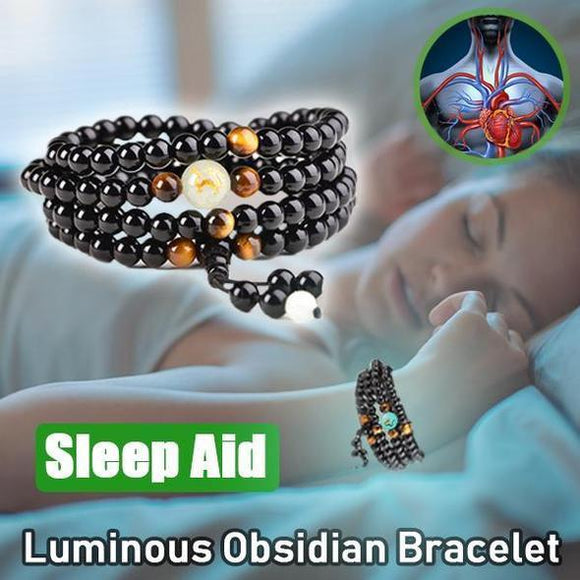 Magnetic Therapy ObsidianBracelet